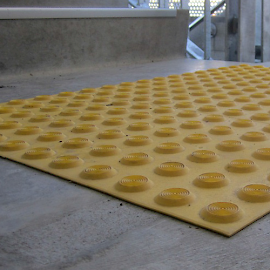Tactile Surface Indicating PVC Mats