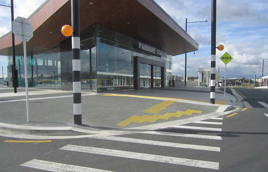 Panmure Train Station, Auckland