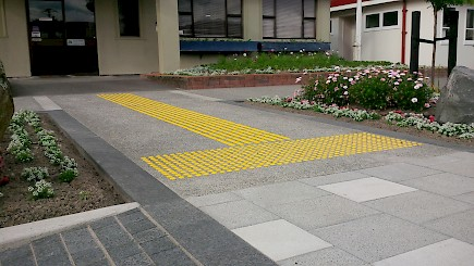 Events Centre anti-slip strips