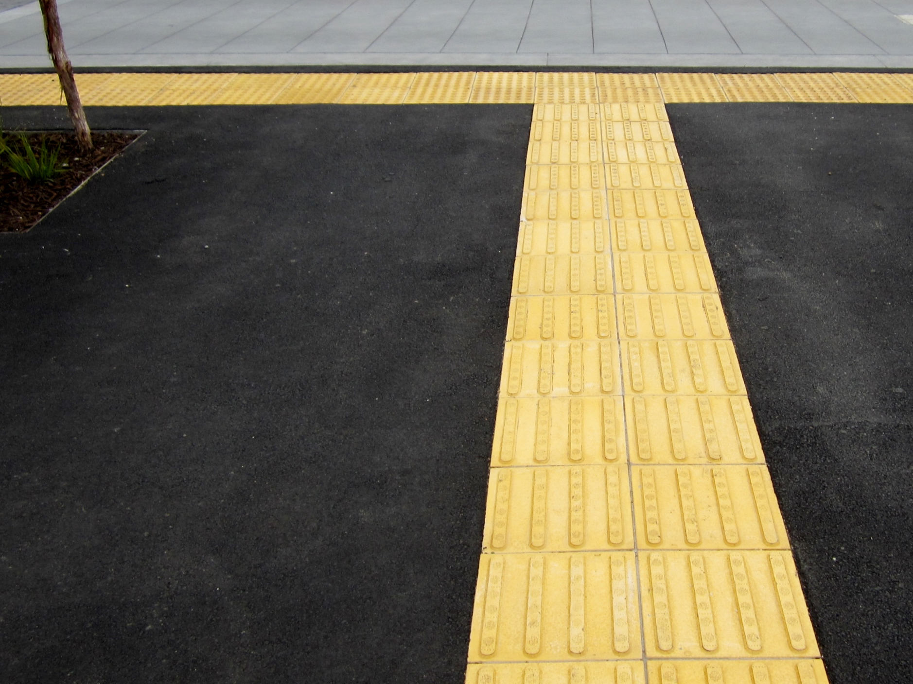 Directional Tactile Pavers For Enhanced Safety