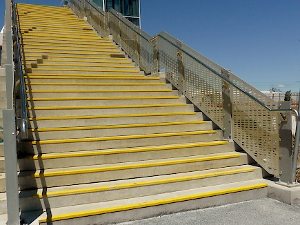 Ameti Pedestrian Project anti slip on stairs