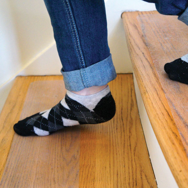 Merveilleux People Tre Antislip Stick On Stair Surface Solution. Slippery Wood ...